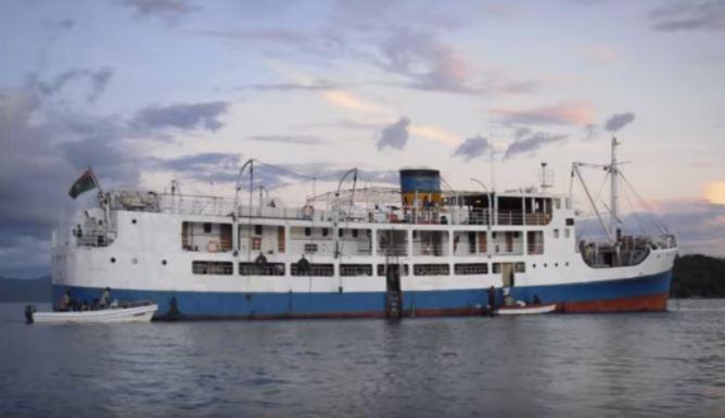 Ilala Ship on Lake Malawi