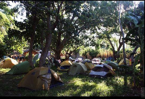 Tourists tents at Chitimba Camp